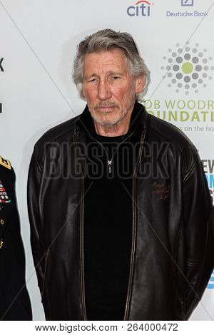 NEW YORK, NY - NOVEMBER 06, 2013: Musican Roger Waters  attend the 7th annual 'Stand Up For Heroes' event at Madison Square Garden.