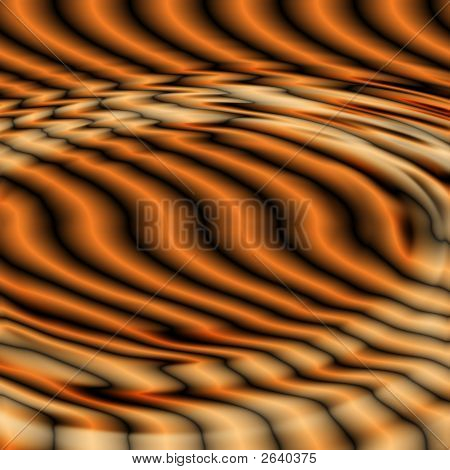 black and orange dynamic ripples background with lines poster