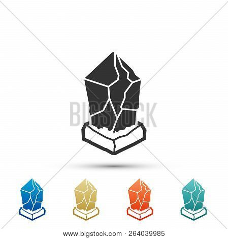 Cryptocurrency Coin Lisk Lsk Icon Isolated On White Background. Physical Bit Coin. Digital Currency.