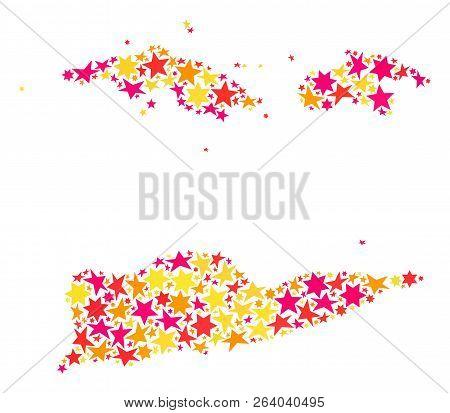 Map American Virgin Vector & Photo (Free Trial) | Bigstock