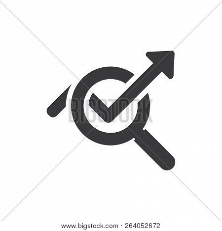 Statistics Vector Icon On White Background. Statistics Icon In Modern Design Style. Statistics Vecto