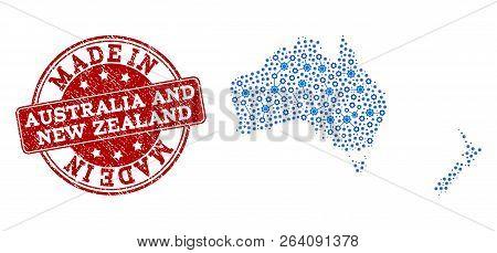 Map Australia And New Zealand.Map Australia New Vector Photo Free Trial Bigstock