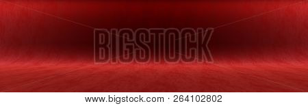 Dark Crimson Background For Shooting In The Studio Or For Your Advertising Text