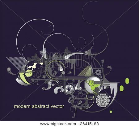 beautiful vector design with lots of elements