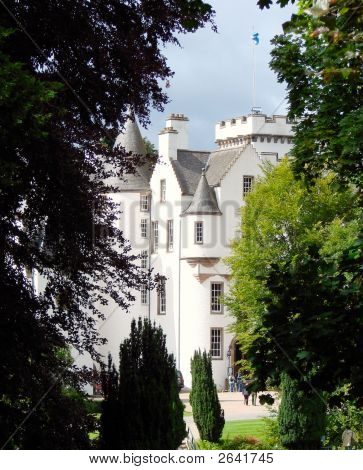 Blair Castle In Scotalnd