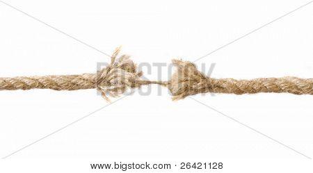 overstrain rope