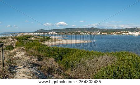 View Of The Estuary Of Cávado River, Esposende - Portugal.