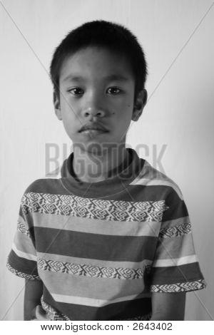 A Asian Boy