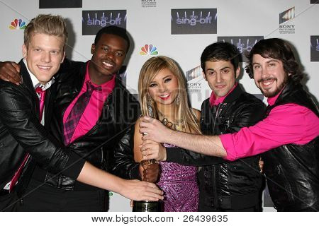 LOS ANGELES - NOV 28:  Pentatonix arrives at the NBC's