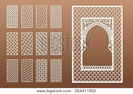 Set Arabic Window Vector & Photo (Free Trial) | Bigstock