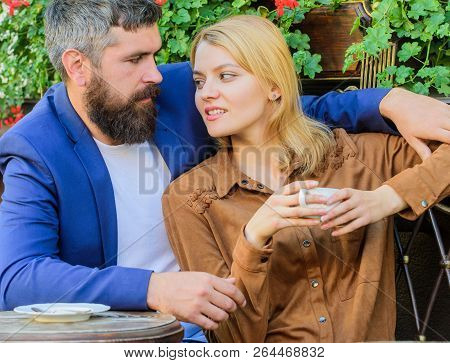 Things Know Before You Date Businessman. Find And Date Businessman. Couple In Love Sit Cafe Terrace