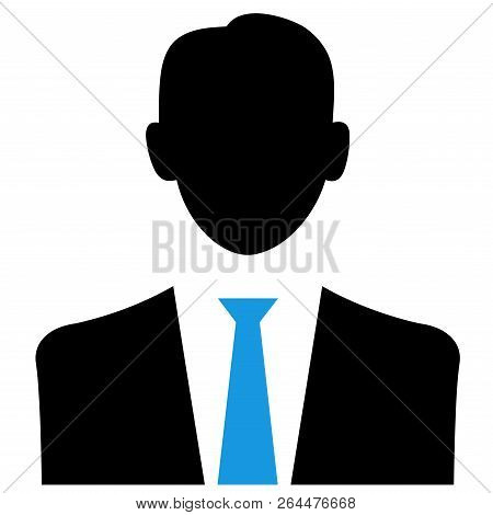 Businessperson Businessman Manager Boss Executive Suit Tie Illustration