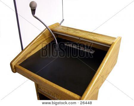 Speaker's Podium
