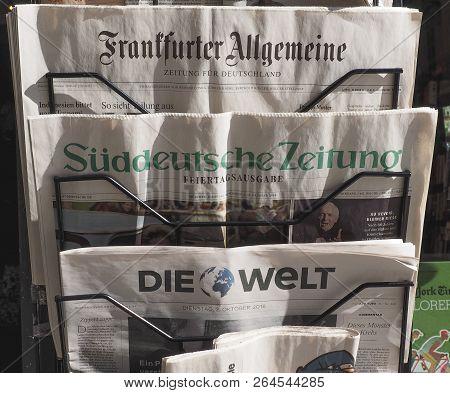 German Newspapers In Turin