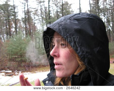 Womansmoking