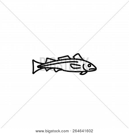 Seafood, Dorado Icon. Detailed Set Of Sea Foods Illustrations. Element Of Asian Cuisine Illustration