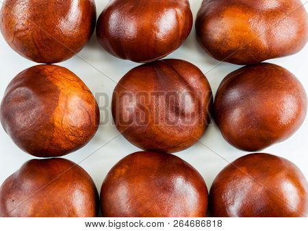 Chestnuts On A White.