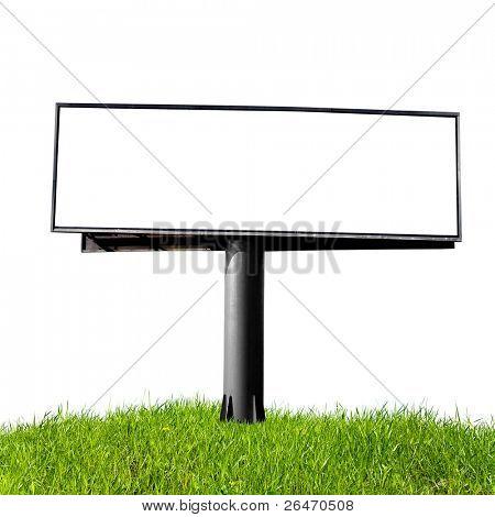 blank billboard, just add your text