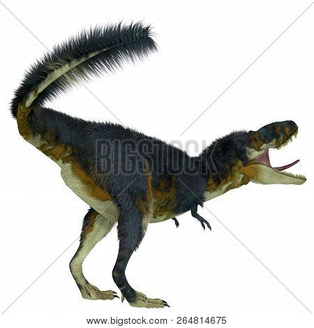 Daspletosaurus Dinosaur Tail 3d Illustration - Daspletosaurus Was A Carnivorous Theropod Dinosaur Th
