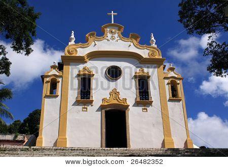 Beautiful Portuguese Baroque church Brazil