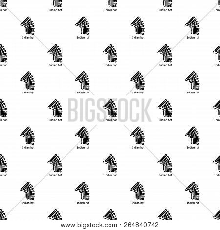 Indian Hat Pattern Vector Photo Free Trial Bigstock