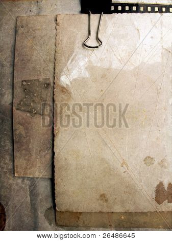 Blank vintage paper - Grunge background