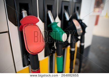Petrol Pump Filling Nozzles