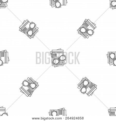 Paycheck Paper Pattern Seamless Vector Repeat Geometric For Any Web Design