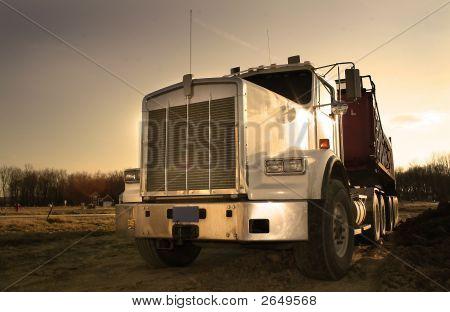 Huge Semi Truck