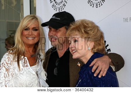 LOS ANGELES - JUN 7:  Catherine Hickland, Todd Fisher, Debbie Reynolds at the Debbie Reynolds Hollywood Memorabilia Collection Auction at Paley Center For Media on June 7, 2011 in Beverly Hills, CA