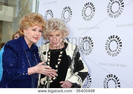 LOS ANGELES - JUN 7:  Debbie Rynolds, Phyllis Diller at the Debbie Reynolds Hollywood Memorabilia Collection Auction & Auction Preview at Paley Center For Media on June 7, 2011 in Beverly Hills, CA