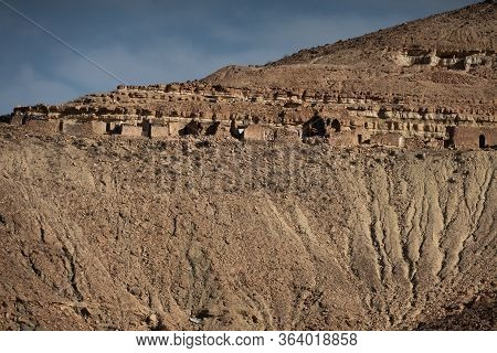 Douiret Is A Ruined Berber Village In The Tataouine District In Southern Tunisia