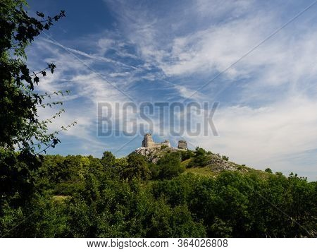 Orphan Castle - Romantic Ruin In Palava, Czech Republic, Hiking Holiday