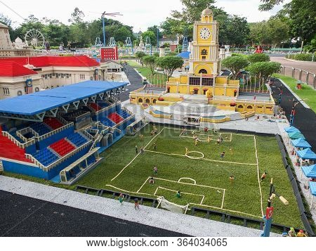 Johor Bahru, Malaysia - 8 January 2018: Legoland Theme Park
