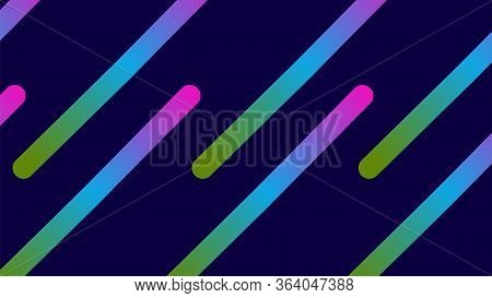 Funky Neon Blend Vector Background. Trendy Colorful Vibrant Horizontal Banner. Iridescent Noble Vect