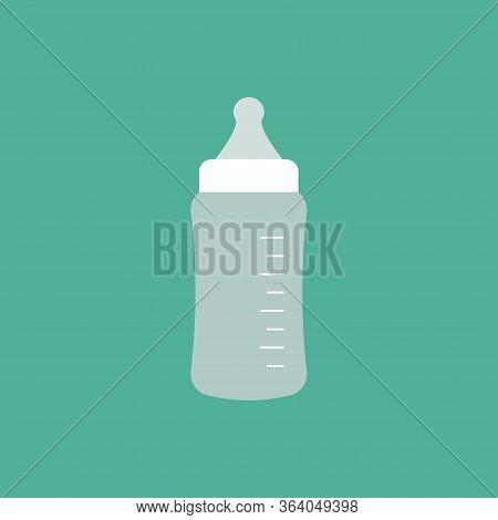 Baby Feeding Bottle Icon Isolated. Vector Illustration