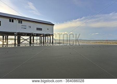 The Sugar Wharf In Port Douglas On The East Coast Of Australia