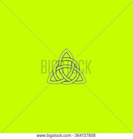 Celtic Knot Vector.line Art Celtic Knot Illustration For Concept Design