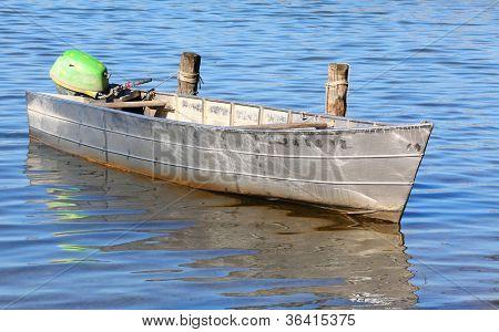 The fishing boat.