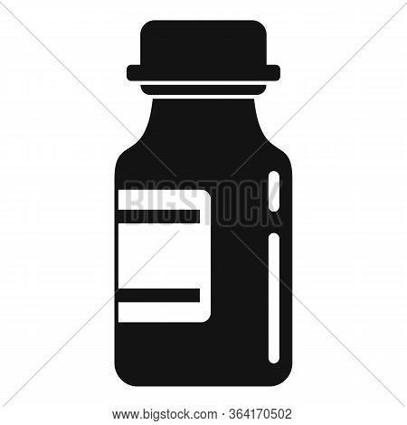 Medical Insulin Pot Icon. Simple Illustration Of Medical Insulin Pot Vector Icon For Web Design Isol