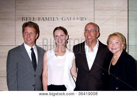 LOS ANGELES - AUG 23:  Bradley Bell, Lauralee Bell, Bill Bell, Jr; Lee Phillip Bell  arrive at
