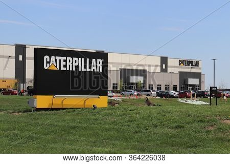 Lafayette - Circa May 2020: Caterpillar Logistics Service Center. Cat Logistics Provides Supply Chai