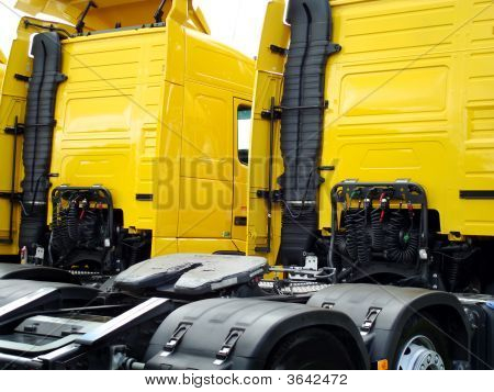 Rear Of A  Lorry