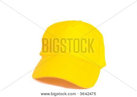 Blank Yellow Baseball Cap