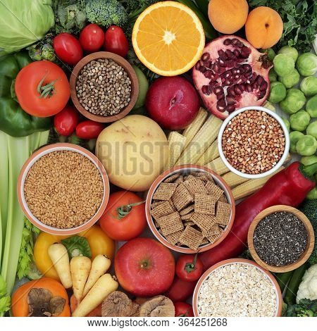 Dietary high fibre healthy food high in antioxidants, omega 3, vitamins & protein. Health food to lower high blood pressure, cholesterol & optimise a healthy heart with low GI levels for diabetics.