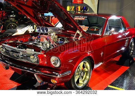 Pasay, Ph - May 19 - Ford Mustang At Trans Sport Show On May 19, 2018 In Pasay, Philippines.