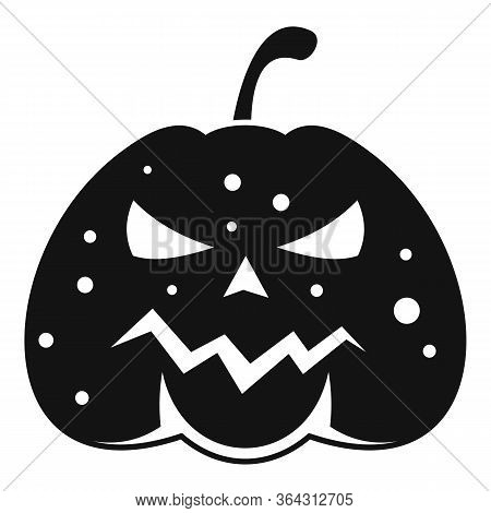 Squash Pumpkin Icon. Simple Illustration Of Squash Pumpkin Vector Icon For Web Design Isolated On Wh