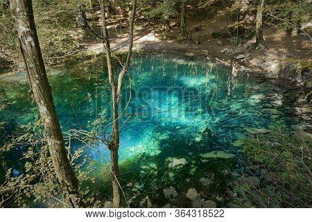 Blue Beautiful Wild Lake, Ochiul Beiului, Romania