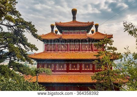 Puning Si Temple, Eight Outer Temples Of Chengde In Chengde, China