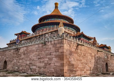 Pule Temple, Eight Outer Temples Of Chengde In Hebei, China